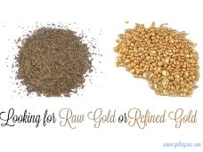rawgoldorrefinedgold